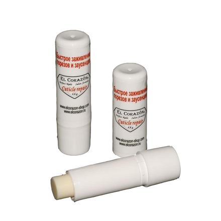 El Corazon, Воск для быстрого заживления заусенцев Cuticle repair, 4,6 грУход за кутикулой<br>Воск для быстрого заживления заусенцев и мелких порезов.