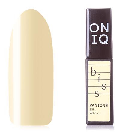 Купить ONIQ, Гель-лак Pantone №007s, Elfin Yellow, Зеленый