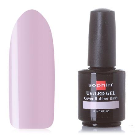 Купить Sophin, Каучуковая база для гель-лака Pink, 12 мл, Натуральный