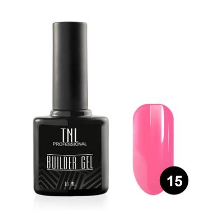 TNL, Гель Builder №15, ярко-розовый, 10 мл
