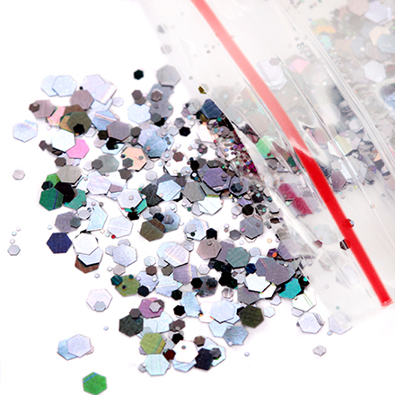 KrasotkaPro, Камифубуки шестигранник (черные)Камифубуки<br>Камифубуки для дизайна ногтей.<br>