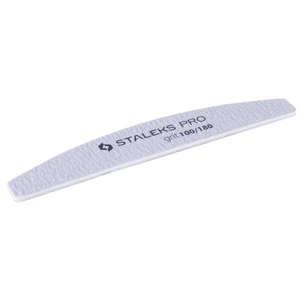 Купить Staleks Pro, Пилка минеральная «Полумесяц», 100/180