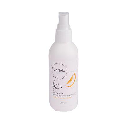 Lianail, Жидкость для снятия липкого слоя «Дыня», 200 мл