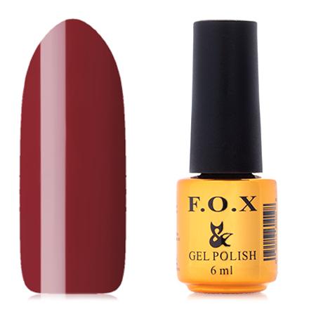 FOX, Гель-лак Pigment №201F.O.X<br>Гель-лак (6 мл) шоколадный, без перламутра и блесток, плотный.<br><br>Цвет: Коричневый<br>Объем мл: 6.00