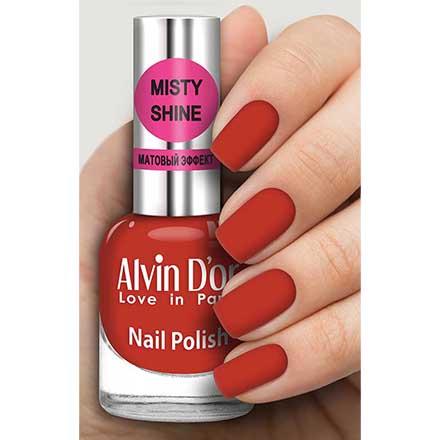 Купить Alvin D`or, Лак Misty shine №538, Alvin D'or, Красный