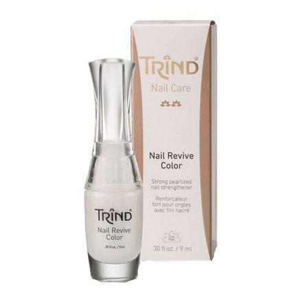 Trind, Укрепитель для ногтей Revive, белый перламутр, 9 мл