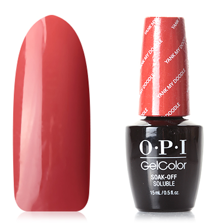 OPI GelColor, Гель-лак Washington, Yank My Doodle opi gelcolor гель лак i sea you wear opi gca73