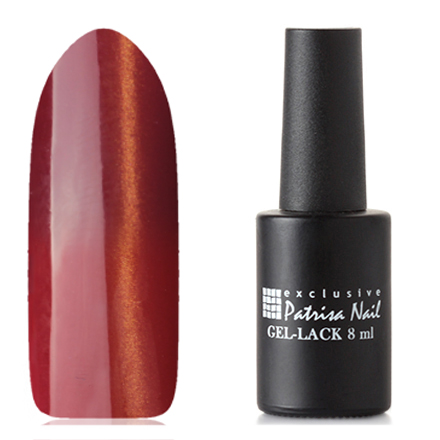 Patrisa Nail, Гель-лак «Кошачий глаз» термо №КТ2Patrisa Nail трехфазный шеллак<br>Магнитный гель-лак с термоэффектом (8 мл) красно-коричневый/рыжий, с золотыми микроблестками, плотный.<br><br>Цвет: Оранжевый<br>Объем мл: 8.00