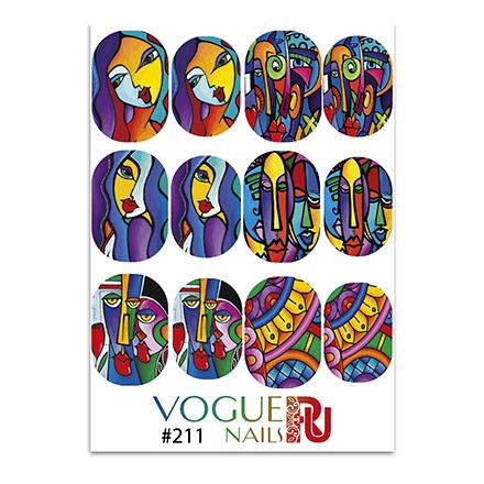 Vogue Nails, Слайдер-дизайн №211  - Купить