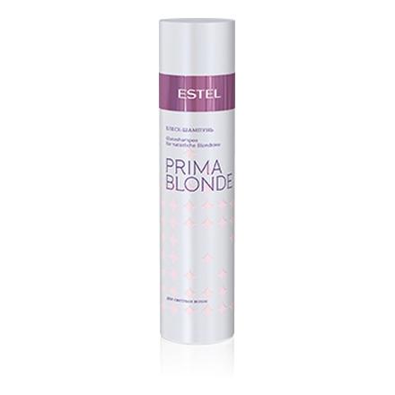 Estel, Блеск-шампунь Prima Blonde, для светлых волос, 250 млШампуни для волос<br>Шампунь с пантенолом и кератином способствует восстановлению структуры волос и наделяет их мягкостью.<br><br>Объем мл: 250.00
