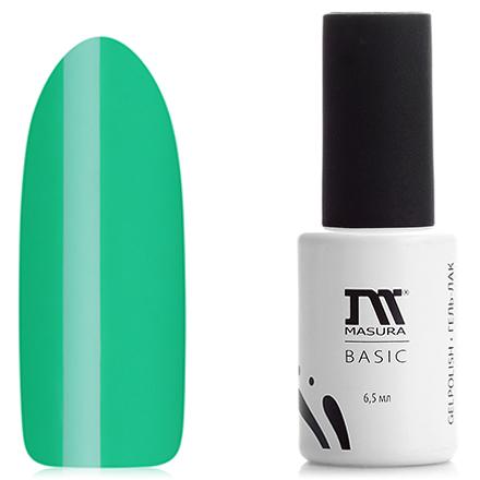 Masura, Гель-лак Basic №291-48, МохитоMasura однофазный шеллак<br>Однофазный гель-лак (6,5 мл) ярко-зеленый, без блесток и перламутра, полупрозрачный.<br><br>Цвет: Зеленый<br>Объем мл: 6.50