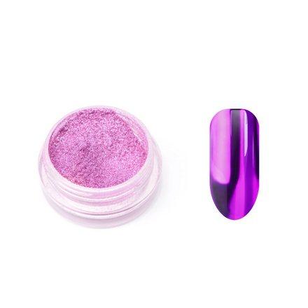 TNL, Металлическая втирка, фиолетоваяВтирка для ногтей<br>Пудра для придания металлического блеска ногтям (1 г).