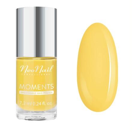 NeoNail, Лак для ногтей Moments №7071-7, Exotic Banana, NeoNail Professional, Желтый  - Купить