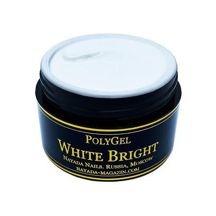 Купить Nayada, Полигель White Bright, 20 г, Белый