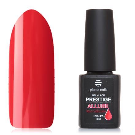 Купить Planet Nails, Гель-лак Prestige Allure №649, Красный