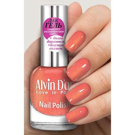 Купить Alvin D'or, Лак-гель №16126, Оранжевый
