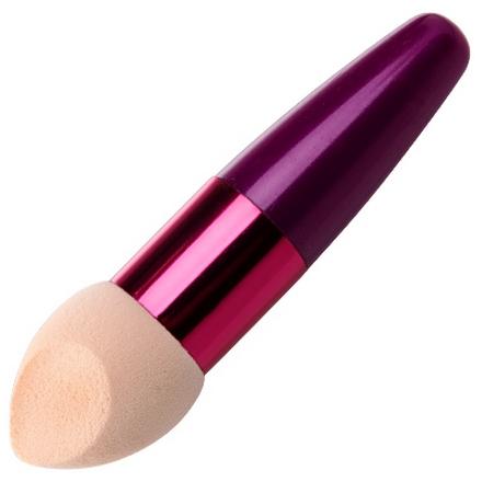 Irisk, Beauty Sculptor, Кисть-спонж для макияжа скошенная (розовая) (IRISK)
