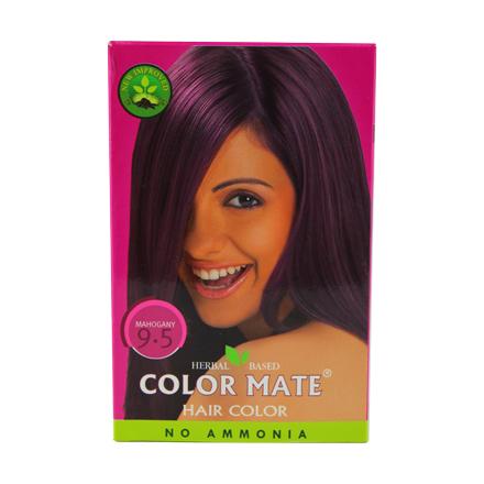 COLOR MATE, Травяная краска для волос 9.5