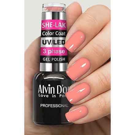 Купить Alvin D'or, Гель-лак №3556, Розовый