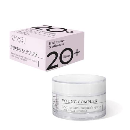 Купить EVSI, Ночной крем для лица Young Complex 20+, 50 мл