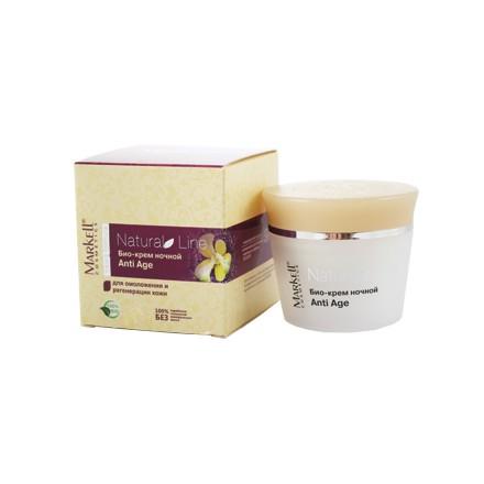 Markell, Био-крем для лица Antiage Natural, ночной, 45 г