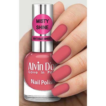 Купить Alvin D`or, Лак Misty shine №534, Alvin D'or, яОранжевые и коралловые
