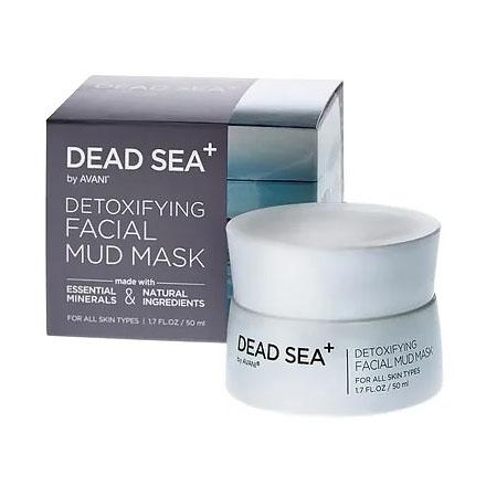 Dead Sea+, Маска для лица Detoxifying, 50 мл фото