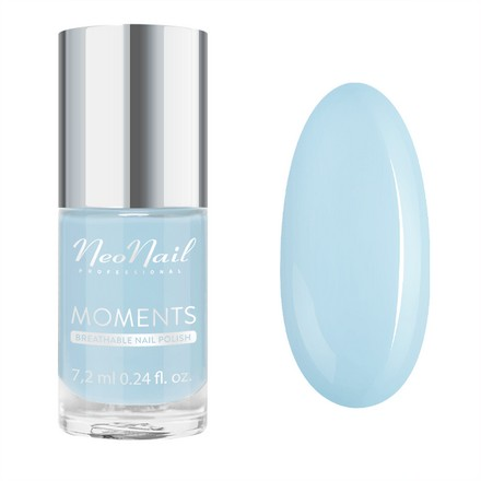 Купить NeoNail, Лак для ногтей Moments №7080-7, Blue Tide, NeoNail Professional, Голубой