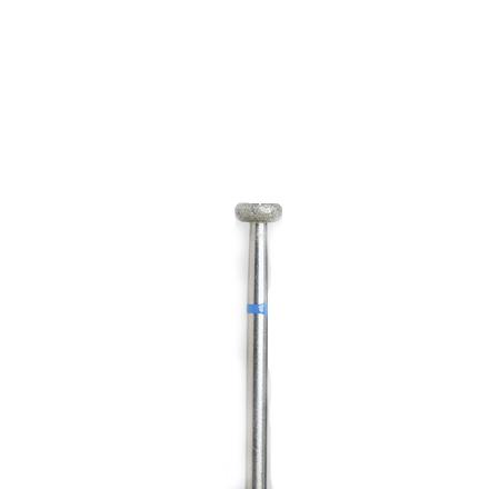 Алмазная насадка 47, синяя (средняя жесткость), D=5 ммНасадки<br>Для снятия длины акриловых ногтей.<br>