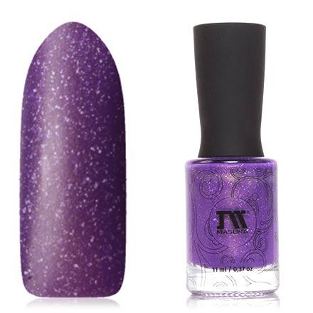 Masura, Лак для ногтей «Золотая коллекция», Фиалки для Анастасии, 11 млMasura<br>Термолак (11 мл) фиалковый/светло-сиреневый, с мелкой фольгой, плотный.<br><br>Цвет: Фиолетовый<br>Объем мл: 11.00
