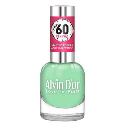 Купить Alvin D'or, Лак «60 секунд» №06, Зеленый
