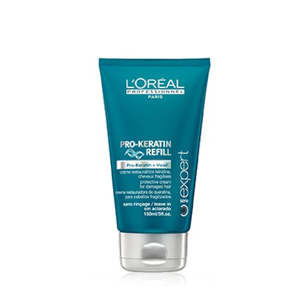 Loreal, Serie Expert Pro-Keratin Refill Blow-Drying Creme, Несмываемый крем, 150 мл (LOreal)