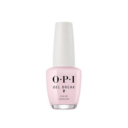 Купить OPI, Лак для ногтей Gel Break, Properly Pink, 15 мл, Розовый