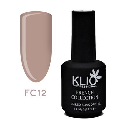 Klio Professional, Гель-лак French Collection №12