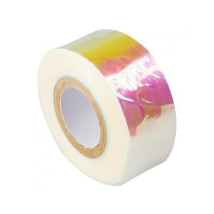 Irisk, Декор «Битое стекло» 01, бело-розовоеБитое стекло<br>Декор в рулоне (2,5см*100м).<br>