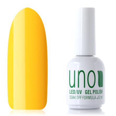 UNO, Гель-лак №014 Желтый, Yellow