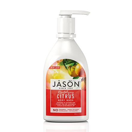 JASON, Гель для душа Revitalizing Citrus, 887 мл