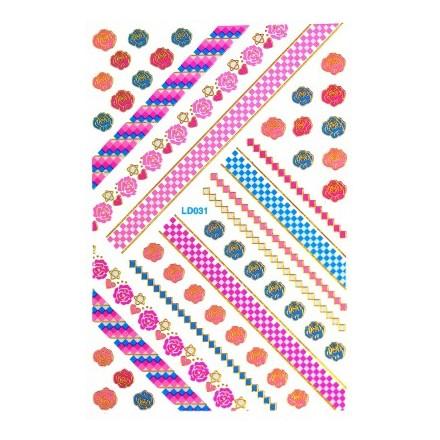 Купить TNL, Японские наклейки, LD 031, TNL Professional