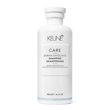 KEUNE, Шампунь Care Derma Exfoliate, 300 млШампуни для волос<br>Отшелушивающее средство для очищения сухой и жирной кожи головы.