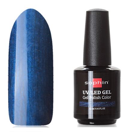 Купить Sophin, Гель-лак №0716, Sapphire, Синий