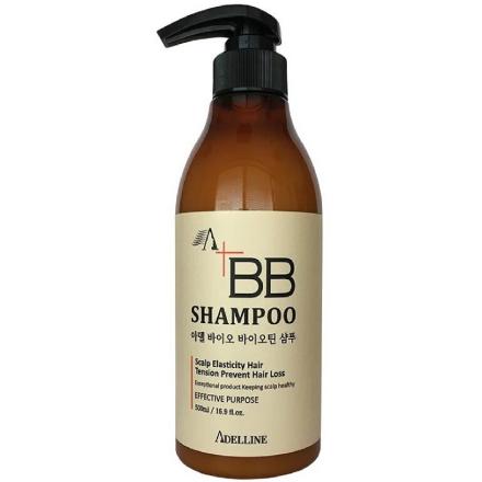 Adelline, ВВ-шампунь против выпадения волос, 500 мл