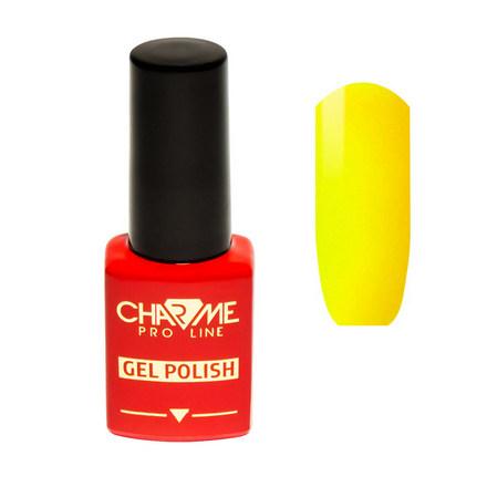 Купить CHARME Pro Line, Гель-лак № 110, Лимон, Зеленый