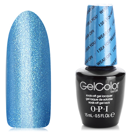 OPI GelColor, Гель-лак I Sea You Wear OPI GCA73 opi gelcolor гель лак i sea you wear opi gca73