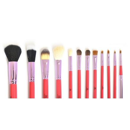 TNL, Набор кистей для макияжа в красной тубе (TNL Professional)
