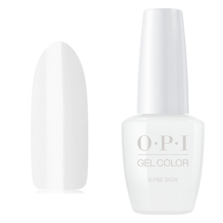 OPI GelColor, Гель-лак Alpine Snow opi gelcolor гель лак i sea you wear opi gca73