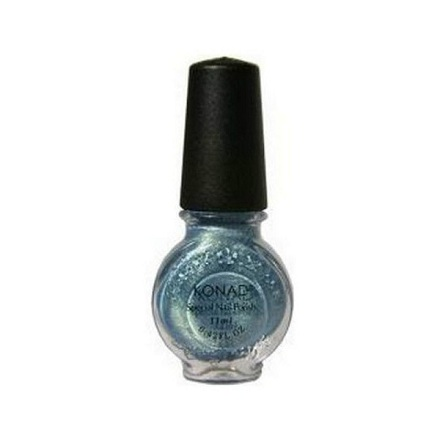 Konad, лак для стемпинга, цвет Secret Blue 11 ml (синий секрет)