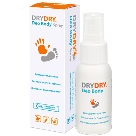 DRY DRY, Дезодорант для тела Deo, 50 мл