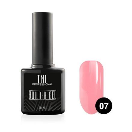 TNL, Гель Builder №07, розовый, 10 млTNL<br>Камуфлирующий гель для моделирования ногтей.