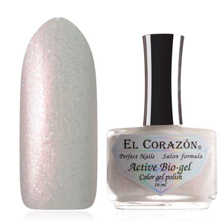 Купить El Corazon, Серия Активный Биогель Shimmer, №423/14, Белый