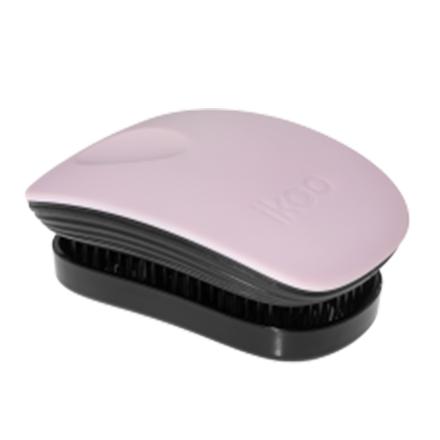 ikoo, Расческа Pocket, Black-cotton candy